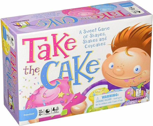 take the cake toddler card game