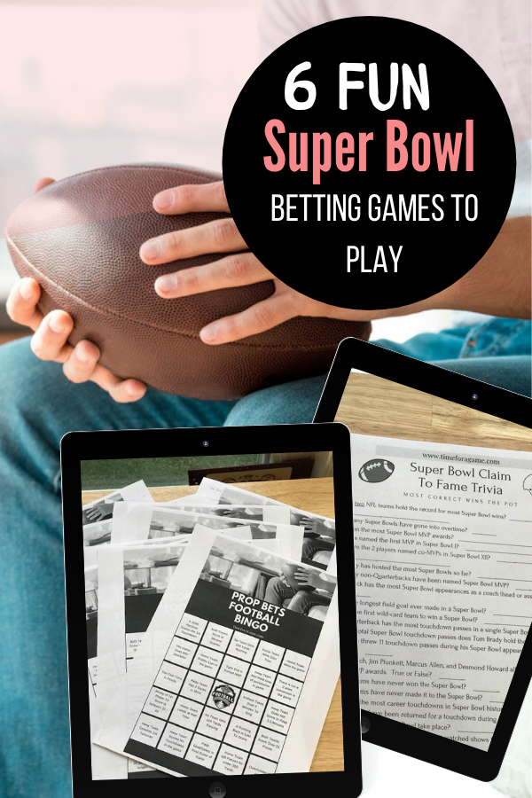 Here you will find some fun betting games to play at your Super Bowl party. From Prop Bets Bingo to Trivia you will have fun with friends playing these football gambling games.
